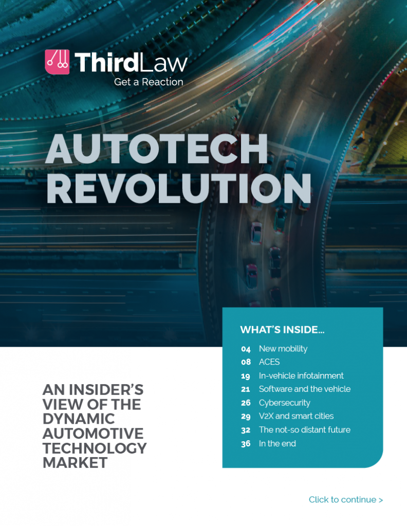 Third Law Autotech Revolution ebook cover