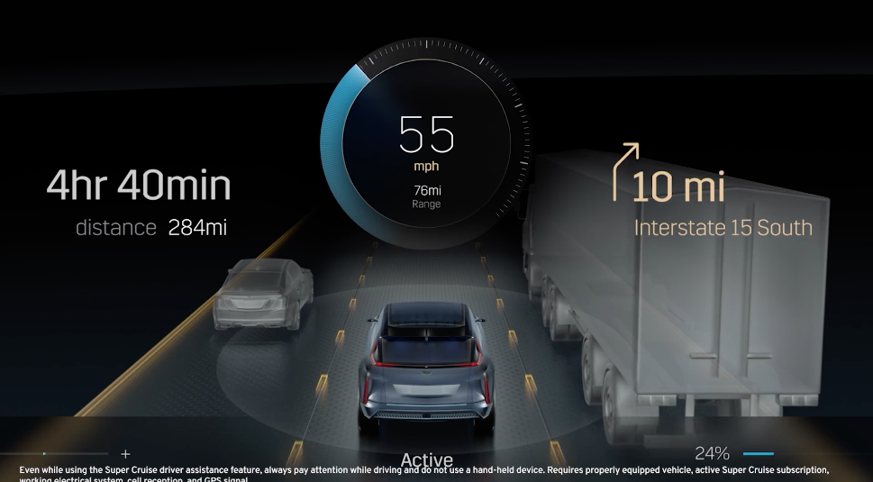 Cadillac UX using Unreal Engine